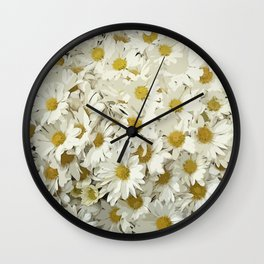 Daisy Mum Profusion Wall Clock