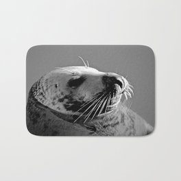 Howth Harbour Seal Bath Mat