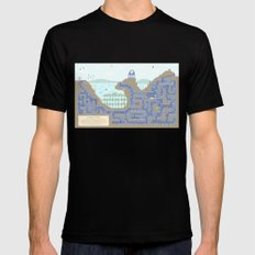 Undertunnels Maze Mens Fitted Tee Black X-LARGE