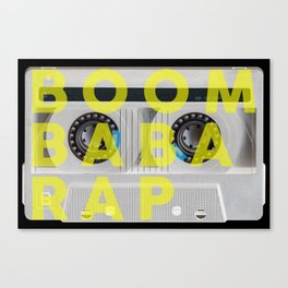 BOOM BABA RAP Canvas Print