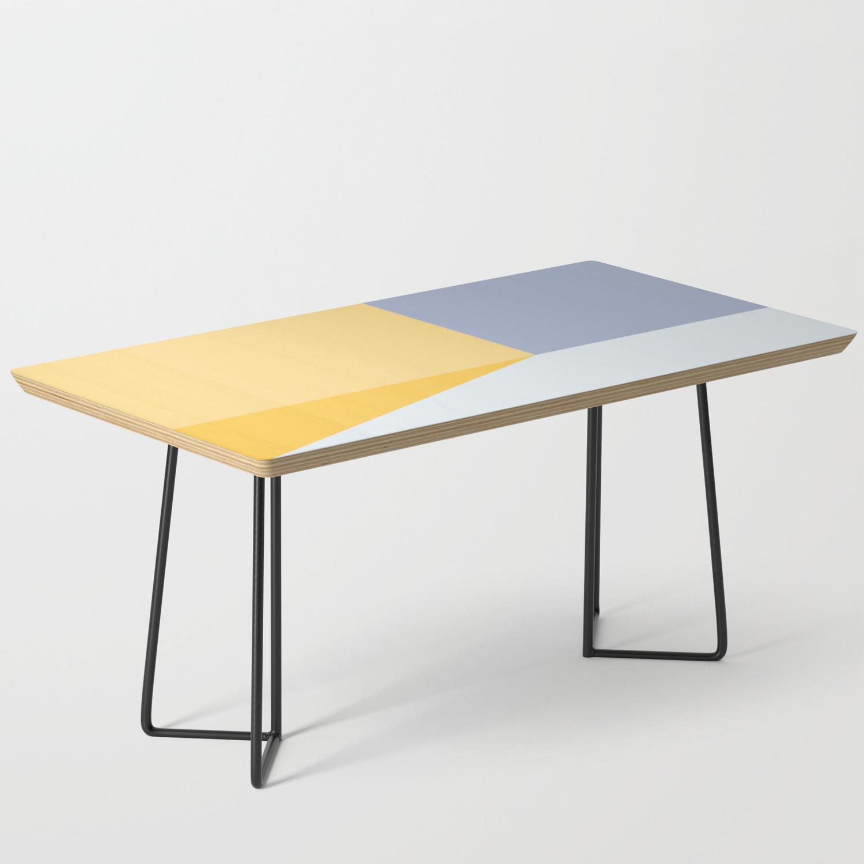 Melange No 3 Modern Geometric Coffee Table By Huesandfables