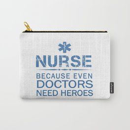 NURSE HEROES Carry-All Pouch