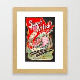 Sweet Attack! Framed Art Print