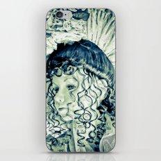 Blue Belle iPhone & iPod Skin