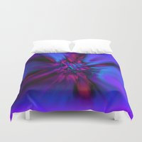 angel wings Duvet Covers featuring Angel Wings by Artist TLynn Brentnall
