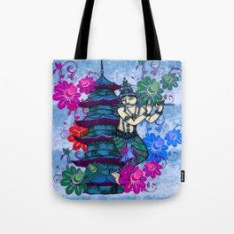 Krishna Rising Tote Bag