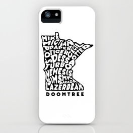 Doomtree DoomState iPhone Case