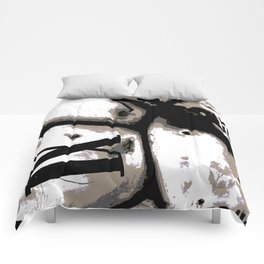 DISTRESSED TIME EARTH Comforters