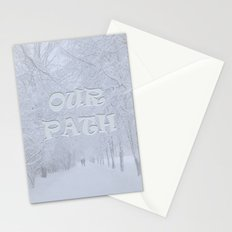 Path (Winter) Stationery Cards