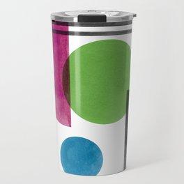 Minimal things Collage #3 Travel Mug