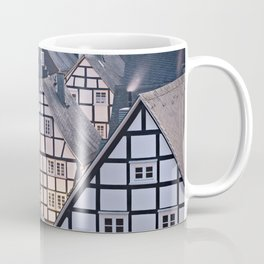 Historic half-timbered houses of Germany Coffee Mug
