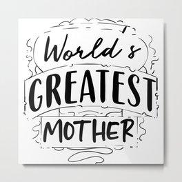 mommy, mama, grandmother, Metal Print