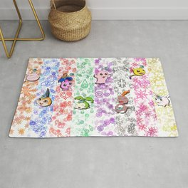 Digimon 15th Anniversary Rug