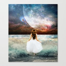 Worlds Apart Canvas Print