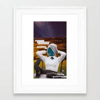 philosophy Framed Art Prints featuring Philosophy Won by ShapeOfShape