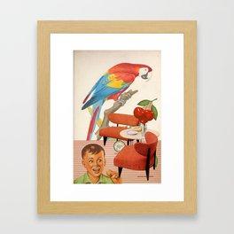 Cerezo Sunday Framed Art Print