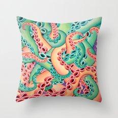 Tentaculon 10 Throw Pillow