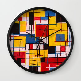 Peace and Panic Wall Clock