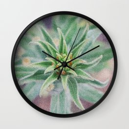 Effervescent Unfolding Wall Clock