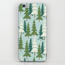Winter Pines iPhone Skin