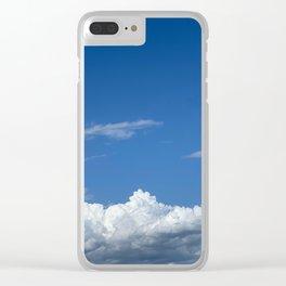 Clouds in the sky Clear iPhone Case