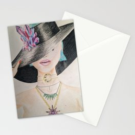 SLAY WITCH | Orginal drawing by Natalie Burnett Art Stationery Cards