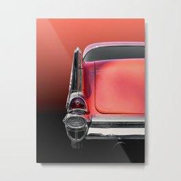 US American classic car bel air 1957 Metal Print