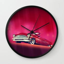 Classic Vintage Car, Wall Clock