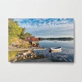 Archipelago in Sweden Metal Print
