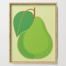 Pear Serving Tray