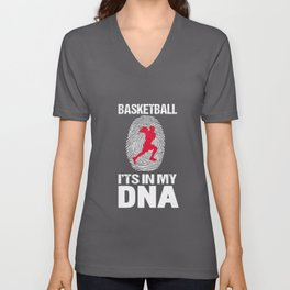 Basketball - It's In My DNA Basketball Player Unisex V-Neck