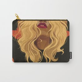If Looks Could Kill (portrait of Daphney) Carry-All Pouch