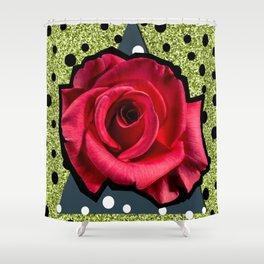 POP ROSE Shower Curtain