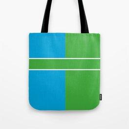 Team Color 6...Light blue,green Tote Bag