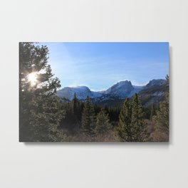SNOW BREEZE & SUN Metal Print