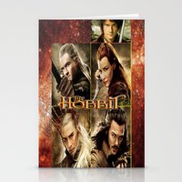 the hobbit Stationery Cards featuring Hobbit by custompro