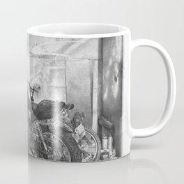 Old Motorcycle Coffee Mug