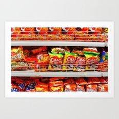 Snacks Art Print