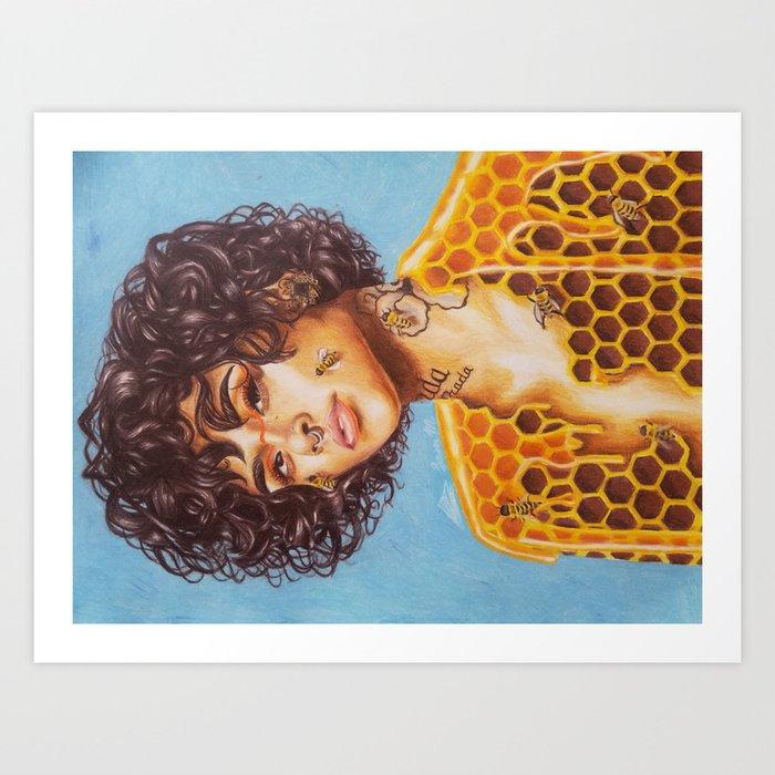 Honey Kehlani Kunstdrucke