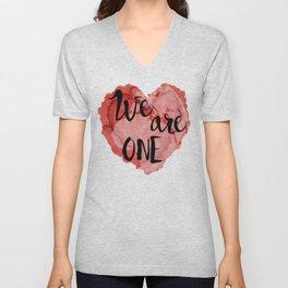 We Are One -Global Community Unisex V-Neck