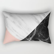 Marble Collage Rectangular Pillow