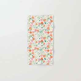 Vanilla Peaches Hand & Bath Towel