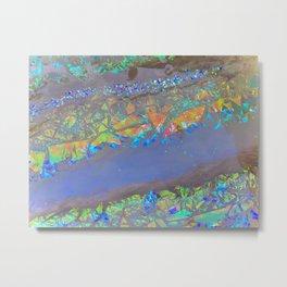 Max Iridescence Metal Print