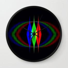 Cat Eye Wall Clock