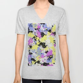 Abstract 22 Unisex V-Neck
