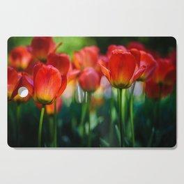 Tulip Field Cutting Board