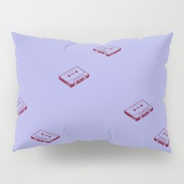 Cassette Tapes- Periwinkle Pillow Sham
