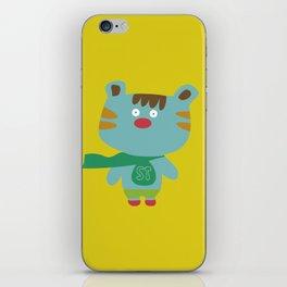 """""""Super Tigre"""" iPhone Skin"""