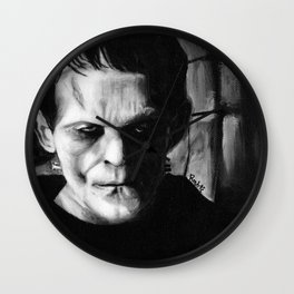THE MONSTER of FRANKENSTEIN - Boris Karloff Wall Clock