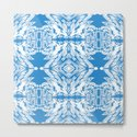 Blue and White Classy Psychedelic by carlieamberpartridge